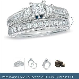Vera Wang Love Collection 2 ct engagement ring
